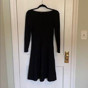 Anne Taylor stretchy sweater dress